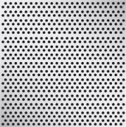 Platen geperforeerd vierkant (recht)