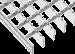 Traptrede roosters, MW30/30, verzinkt, Antislip