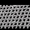 Geweven gaas (gevlochten raster), verzinkt
