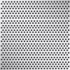 Platen verzinkt geperforeerd vierkant (recht)
